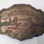 John Wayne's belt buckle