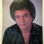 Conway Twitty signed promo photo